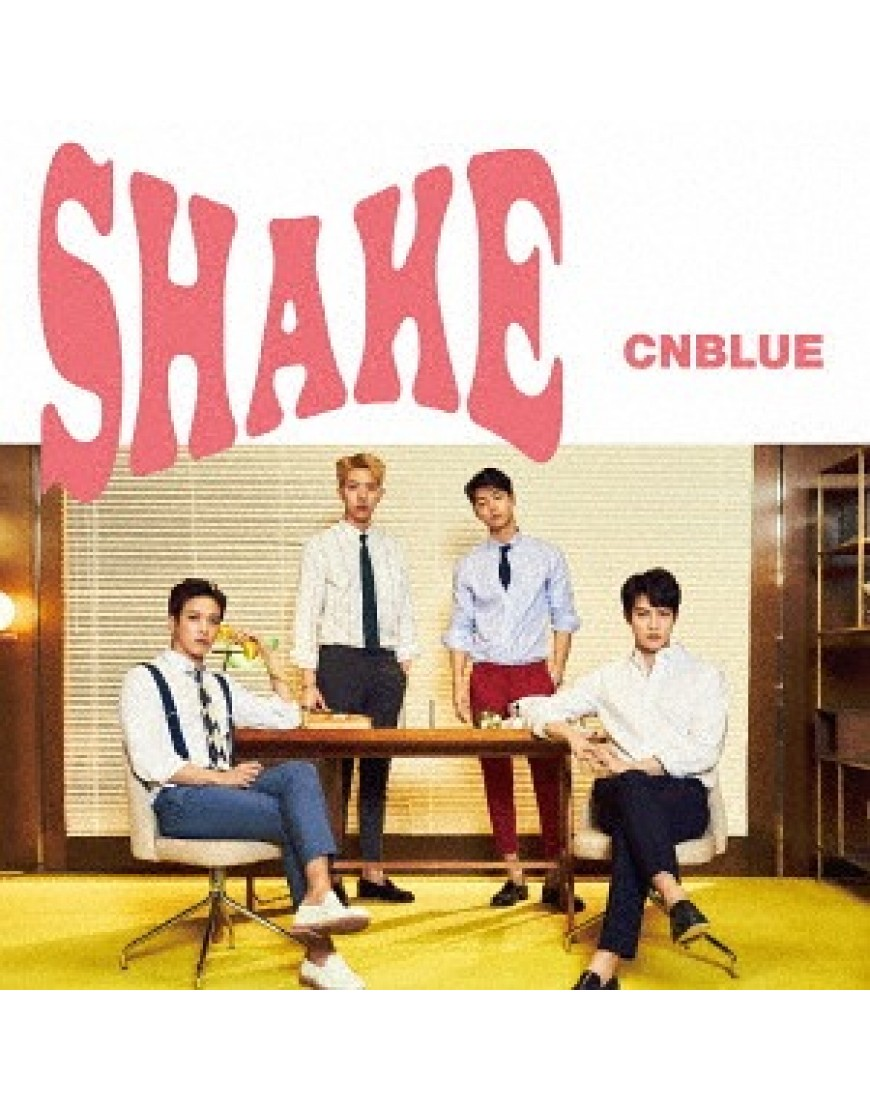 CNBLUE- Shake [w/ DVD, Limited Edition / Type B]  popup