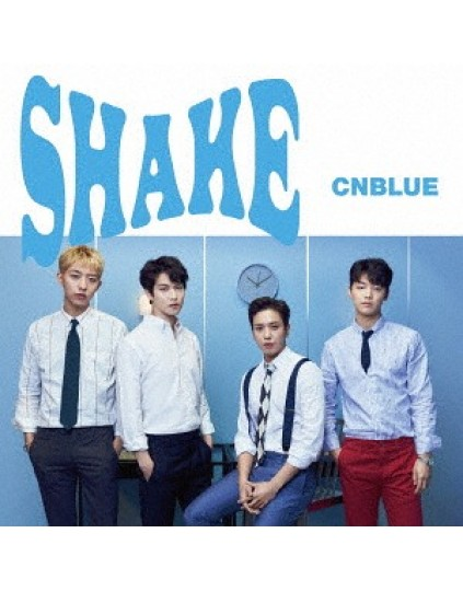 CNBLUE- Shake [w/ DVD, Limited Edition / Type A]