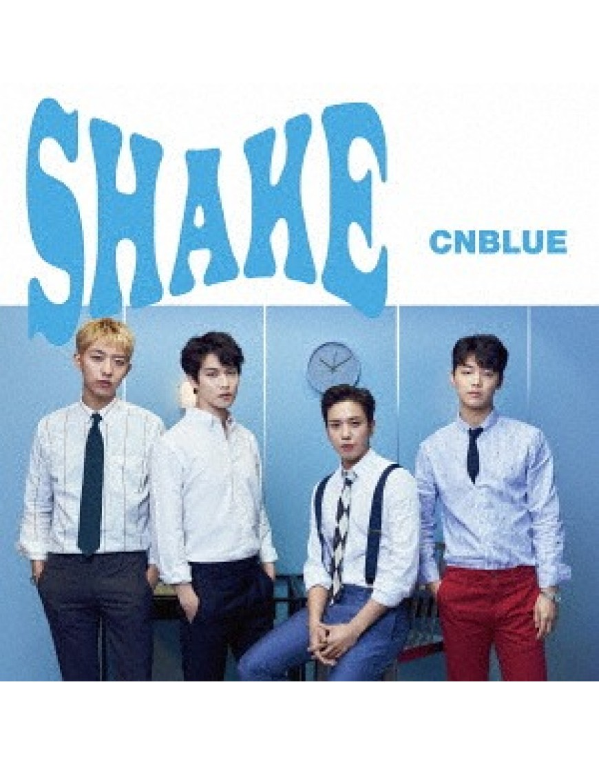CNBLUE- Shake [w/ DVD, Limited Edition / Type A]  popup