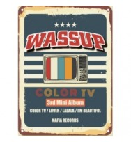 WASSUP 3RD MINI ALBUM - COLOR TV