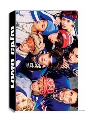 NCT U Lomo Cards