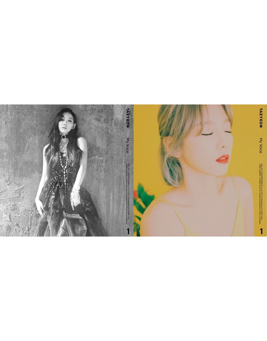 Combo Tae Yeon - Album Vol.1 [My Voice] (Fine+ I Got Love version) popup