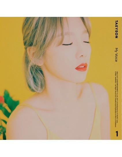 Girls' Generation : Tae Yeon - Album Vol.1 [My Voice] (Fine version)