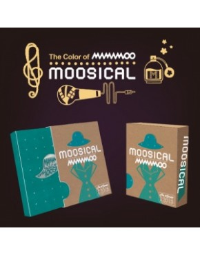 MAMAMOO 2016 MOOSICAL CONCERT - PHOTO BOOK + LIVE CD