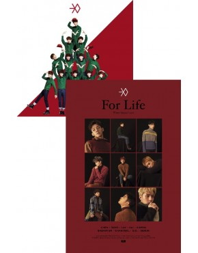 Combo EXO - Winter Special Album [ Miracles in December + For Life]