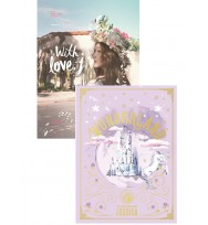 Combo Jessica- Mini Album 1+ 2 ( With Love, J + Wonderland)