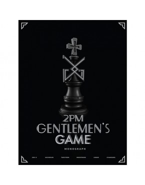 2PM - GENTELMEN'S GAME MONOGRAPH (LIMITED)