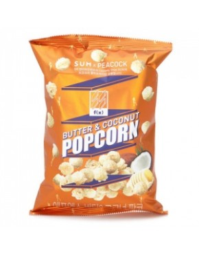SUM X PEACOCK : F(X) POP CORN - BUTTER & COCONUT 120G