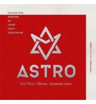 ASTRO - Mini Album Vol.3 [Autumn story] (Red version)
