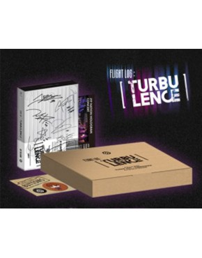 GOT7 - Autographed Package [FLIGHT LOG : TURBULENCE] (Limited edition)