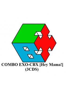Combo EXO-CBX - Mini Album Vol.1 [Hey Mama!] (3cds)