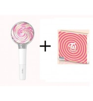 TWICE - Mini Album Vol.3  + TWICE - OFFICIAL LIGHT STICK [CANDY BONG]