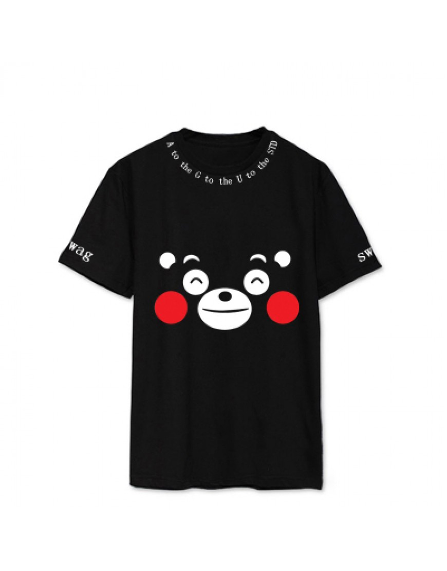 b9ef41c7f50e2 Camiseta BTS AGUST D SUGA Kumamon