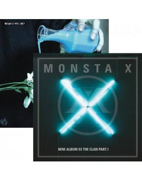 Combo MONSTA X - MINI ALBUM VOL.4 [THE CLAN 2.5 PART.1 e 2]