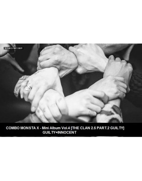 Combo MONSTA X - MINI ALBUM VOL.4 [THE CLAN 2.5 PART.2 GUILTY] Guilty+ Innocent Version