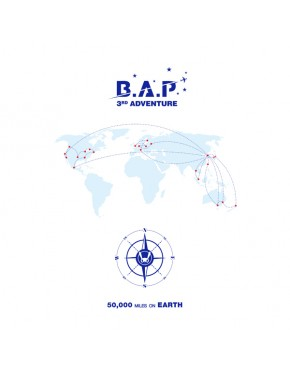 B.A.P - B.A.P 3RD ADVENTURE [50,000 MILES ON EARTH]