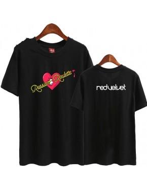 Camiseta RED VELVET RUSSIAN ROULETTE