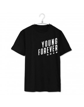 Camiseta BTS Young Forever