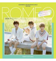 ROMEO - Mini Album Vol.3 [MIRO] (Kang Min&Seung Hwan&Milo Edition)