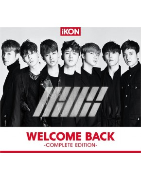 iKON- WELCOME BACK -Complete Edition- [Regular Edition]