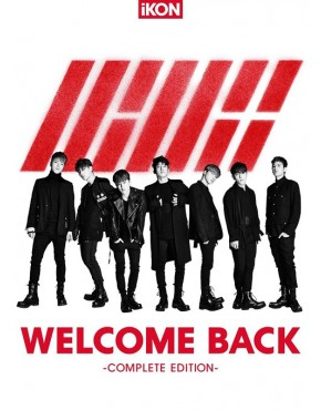 iKON- WELCOME BACK -Complete Edition- [CD+DVD] [Regular Edition]