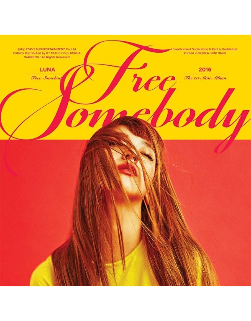 f(x) : Luna - Mini Album Vol1. [Free Somebody] popup