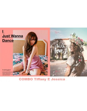 Combo Tiffany - Mini Album Vol.1 [I Just Wanna Dance] e Jessica - Mini Album Vol.1 [With Love, J]