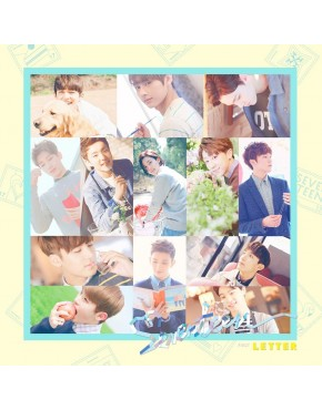 Seventeen - Album Vol.1 [FIRST LOVE&LETTER] LETTER Version