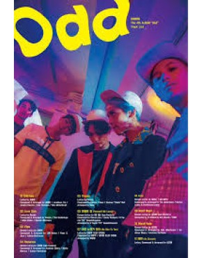 POSTER SHINee - Odd (Vol. 4) [A Ver.] OFFICIAL
