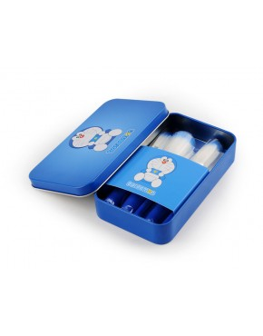 Kit de Pincéis Doraemon