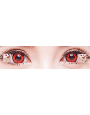 CIRCLE LENS  GEO Animation Red