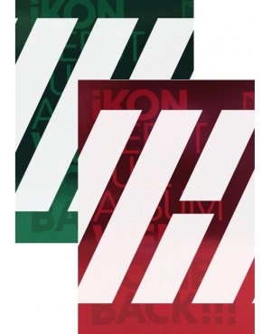 Combo iKON - DEBUT FULL ALBUM [WELCOME BACK] (Red + Green Version)