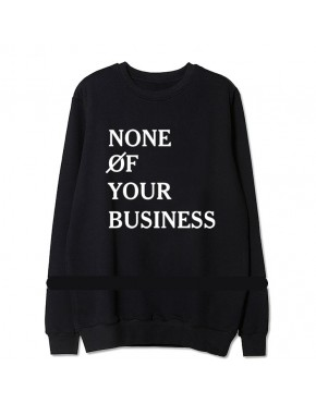 Blusa BTS EXO None of your business