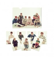 MONSTA X OFFICIAL 1st GOODS L-HOLDER SET(8unidades)