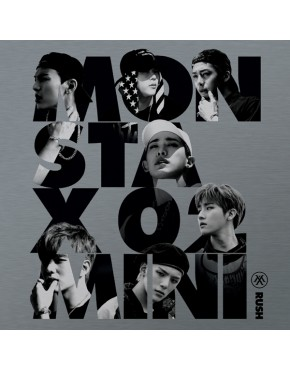 MONSTA X - MINI ALBUM VOL.2 [RUSH] OFFICIAL VERSION