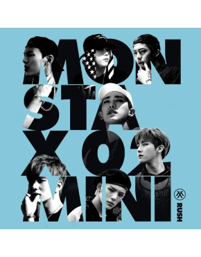 MONSTA X - Mini Album Vol.2 [RUSH] Secret Version
