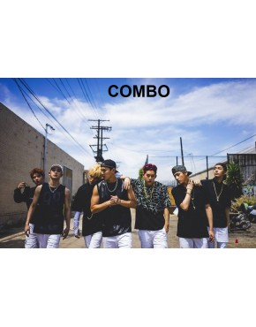 Combo MONSTA X - Mini Album Vol.2 [RUSH]