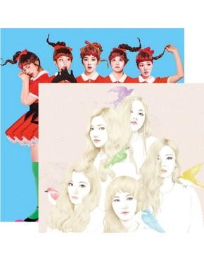 Combo Red Velvet [ Ice Cream Cake+ The Red]