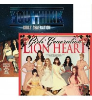 Combo Girls' Generation - Album Vol.5 [Lion Heart+ You Think]