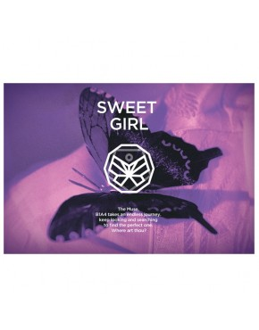 B1A4 - Mini Album Vol.6 [Sweet Girl] Butterfly version