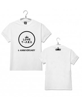 Camiseta T-ARA 6th Anniversary