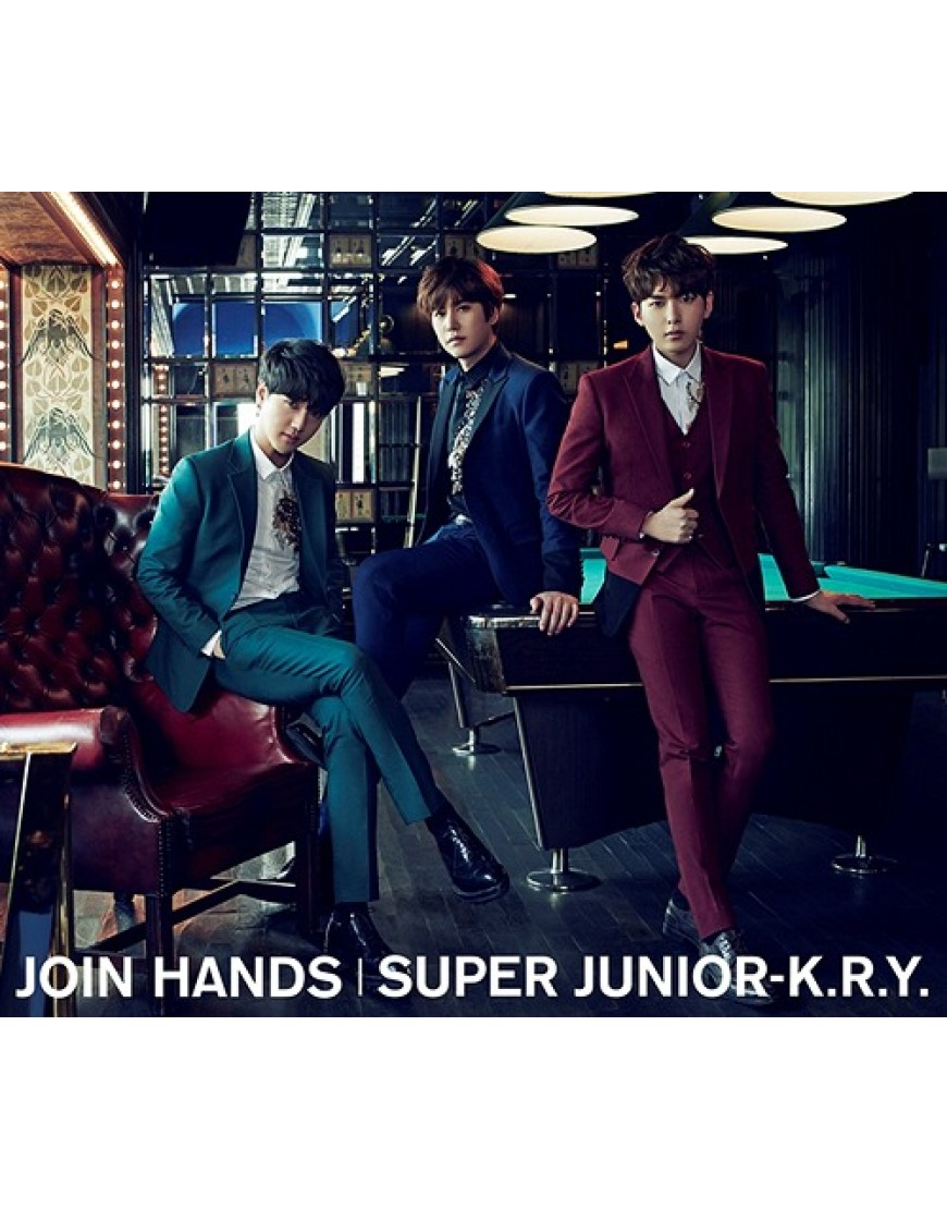 SUPER JUNIOR-K.R.Y.- Join Hands [ Limited Edition]  popup