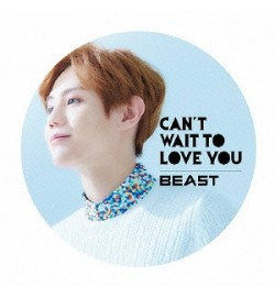 BEAST- Can't Wait To Love You [Cardboard Sleeve (mini LP)] [Yo-seob Ver.]