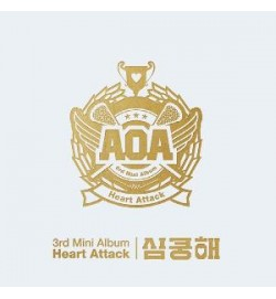 AOA - Mini Album Vol.3 [Heart Attack(심쿵해)]