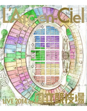 L'Arc-en-Ciel Live 2014 at Kokuritsu Kyogijo [Regular Edition] Blue-Ray