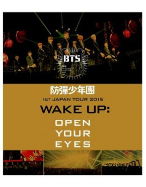 "BTS - 1st Japan Tour 2015 ""Wake Up: Open Your Eyes"" Blu-ray"
