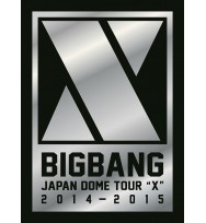 "BIGBANG Japan Dome Tour 2014-2015 ""X"" -Deluxe Edition- [Type A / 3DVD+2CD+PHOTO BOOK"