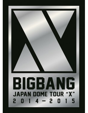 """BIGBANG Japan Dome Tour 2014-2015 """"X"""" -Deluxe Edition- [Type A / 3DVD+2CD+PHOTO BOOK"""