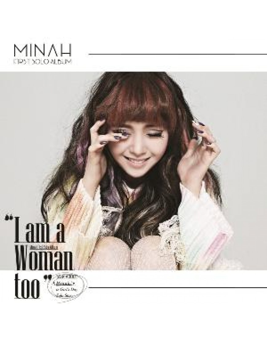Girl`s Day : Min Ah - Mini Album [I am a Woman too] popup