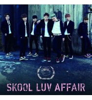 BTS - Skool Luv Affair (Japanese Edition) [CD+DVD]